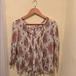 Anthropologie Vanessa Virginia boho top